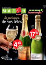 Prospectus  : Match, le partenaire de vos fêtes