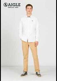Prospectus Aigle PARIS 1 avenue des Ternes : Chemises Homme