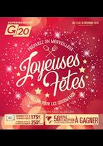 Prospectus G20 : Joyeuses fêtes