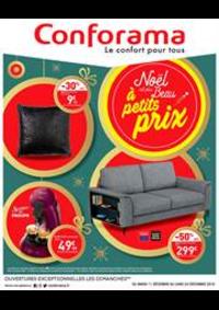 Prospectus Conforama FLEURY MEROGIS : Noël est plus Beau à petits prix