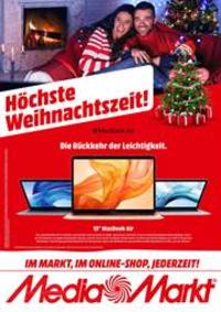 Prospectus Media Markt Bern  : Höchste Weihnachtszeit!
