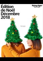 Prospectus Flying Tiger : Édition de Noël Décembre 2018