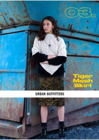 Catalogues et collections Urban Outfitters BRUXELLES : Tiger mesh skirt