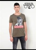 Prospectus Le temps des cerises : T-Shirts Et Polo Homme