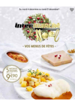 Prospectus Intermarché : Vos menus de fêtes