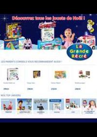 Prospectus La grande Récré PARIS 120 rue d'Alésia : Découvrez tous les jouets de Noël!
