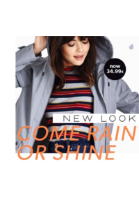 Catalogues et collections New Look Namur : Come rain or shire