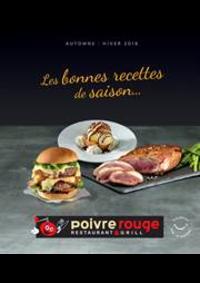 Prospectus Poivre rouge Rouen - St Etienne du Rouvray : Automne Hiver 2018