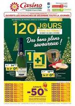 Prospectus Supermarchés Casino : Des bons plans savoureux !