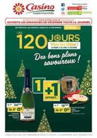 Prospectus Supermarchés Casino PARIS 352 RUE LECOURBE : Des bons plans savoureux !
