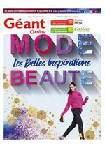 Prospectus Géant Casino : Les belles inspirations beauté