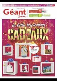 Prospectus Géant Casino BOISSY SAINT LÉGER : Les belles inspirations Cadeaux