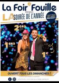 Prospectus La Foir'Fouille BRETIGNY SUR ORGE : La soirée de l'année