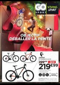 Prospectus Go Sport PARIS CHATILLON : Objectif déballer la pente