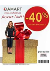 Prospectus Damart RENNES : Joyeus Noël