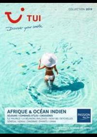 Prospectus TUI Boulogne-Billancourt : Brochure Afrique & Océan Indien Collection 2019