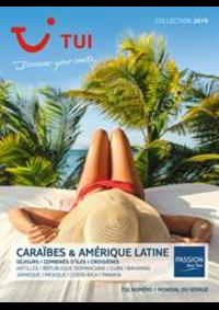 Prospectus TUI Boulogne-Billancourt : Brochure Caraïbes & Amérique Latine Collection 2019