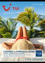 Promos et remises  : Brochure Caraïbes & Amérique Latine Collection 2019