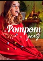 Prospectus Women'secret : Women'secret Pompom party