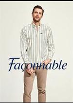 Prospectus Façonnable : Collection Chemises