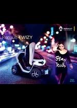 Prospectus Renault : Renault Twizy