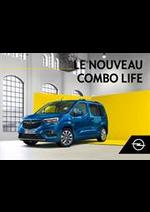 Prospectus opel : Opel Combo Life