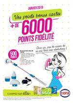 Promos et remises  : + de 6000 points fidélité