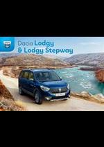 Prospectus Dacia : Dacia Lodgy & Lodgy Stepway