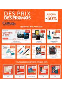 Prospectus Cultura : Des Prix, Des Promos