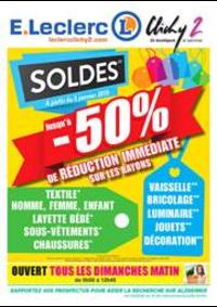 Prospectus E.Leclerc : Soldes