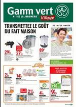 Prospectus Gamm vert : Transmettez le goût du fait maison!