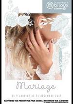 Prospectus  : Mariage