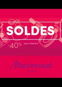 Prospectus Marionnaud : Soldes