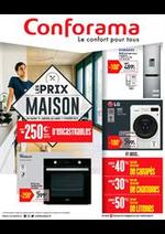 Prospectus Conforama : Les prix maison