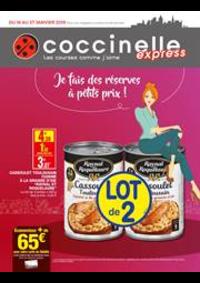 Prospectus Coccinelle Express Drancy : Je fais de réserves à petits prix!