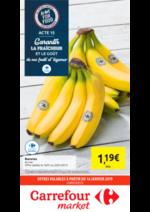 Prospectus Carrefour Market : Garantir la fraîcheur de nos fruits