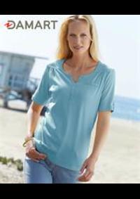 Prospectus Damart AULNAY-SOUS-BOIS : T-Shirts Femme