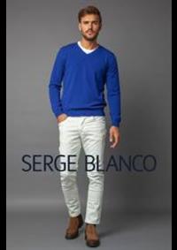 Prospectus Serge Blanco PARIS : Collection Laine Mérino