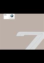 Prospectus BMW : BMW Serie7