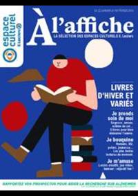 Prospectus E.Leclerc L'AIGLE : Culturel