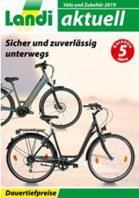 Prospectus Landi Belp - Aare Genossenschaft : Velo und Zubehör 2019