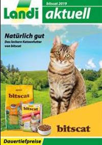 Prospectus Landi Belp - Aare Genossenschaft : Bitscat Katzenfutter 2019
