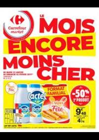 Prospectus Carrefour Market SCY CHAZELLES : Le mois encore moins cher 4