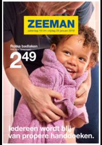 Prospectus Zeeman Ixelles : Ledereen wordt blij van handdoeken