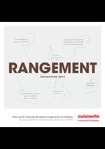 Prospectus  : Catalogue Rangements 2019