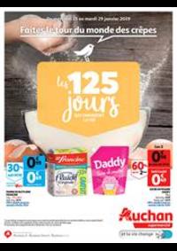 Prospectus Auchan Supermarché : Faites le tour du monde des crêpes