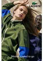 Prospectus Lacoste : Lacoste Motion styled to go