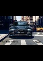 Prospectus Audi : Audi A7 Sportback