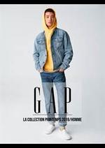 Prospectus Gap : La Collection Printemps 2019 / Homme
