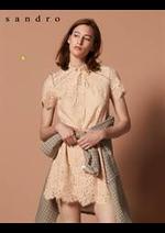 Prospectus Sandro : Robe Femme